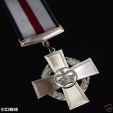 CONSPICUOUS GALLANTRY CROSS MILITARY MEDAL DISTINGUISHED SERVICES FULL SIZE COPY