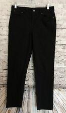 Talbots Heritage Black Denim Slim Ankle Jeans 6/28