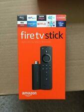 AMAZON Fire TV Stick with Alexa Voice Remote (2019) New Sealed UK Model