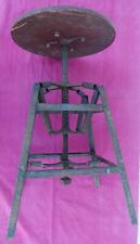 Antique Industrial Drafting Suspended Springs Stool American Cabinet Co.