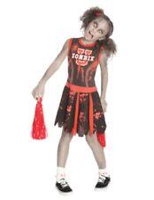 Girls Undead Cheerleader Costumes