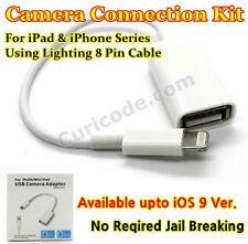 iOS 9 Type A iphone ipad HUB Reader camera connection OTG USB Master Keyboard