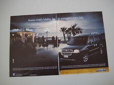 advertising Pubblicità 2002 FIAT DOBLO' MALIBU