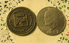 Commerative large/dollar size /heavy medal/Token /NL of Canada #130