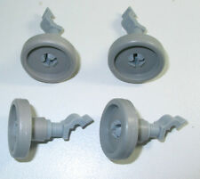 4X DISHWASHER LOWER BASKET ROLLERS W'HOUSE/SIMPSON