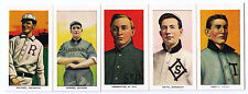 T206 6 Rochester Bronchos Broncos 1909-1911 complete minor team set reprint 1988