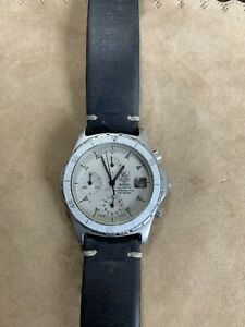 TAG HEUER 2000 QUARTZ. PROFESSIONAL CHRONOGRAPH. NOT RUNNING. SOLD AS IS.
