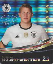 Sammelbild 23 Bastian Schweinsteiger REWE Glitzer Sticker Fußball DFB EM 2016