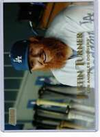 Justin Turner 2019 Topps Stadium Club 5x7 Gold #114 /10 Dodgers