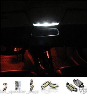 11pc Volkswagen MK6 MKVI GTI GOLF LED Interior Light Kit Package- RED Footwells
