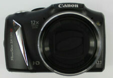 CANON POWERSHOT SX130IS HD 12X OPTICAL ZOOM 12.1 MP WITH CASE DIGITAL CAMERA