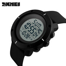 SKMEI LED Digital Waterproof Mens Watch Sport Quartz Analog Military Wristwatch