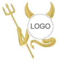 ♥ ♥ 3D GOLD Auto Demon Aufkleber Teufel Devil Emblem GOLD Neu & OVP ♥ ♥