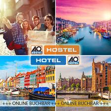 2ÜF- 2P im A&O Hostel (Mehrbettzimmer) 22 Städte - 6 Länder - 34 Hostels