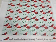 Souvenir Teatowel 'Rosella and Waratah'  Pure Cotton.Brand new by Ross Aust.