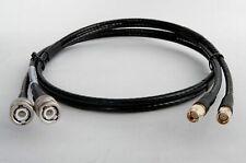 2m Twin Kabel H155 für LTE MIMO Antenne Novero - BNC-Stecker / SMA-Stecker