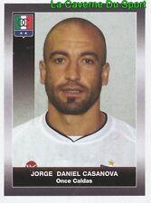 227 JORGE CASANOVA URUGUAY ONCE CALDAS STICKER PANINI COLOMBIA PRIMERA A 2008