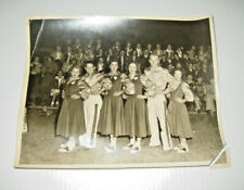 Old Photo Sun Oil Co Delhi Louisiana Cheer Leaders  8x10
