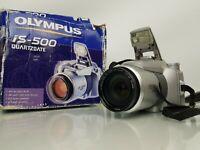 Vintage Olympus IS-500 35mm Film All in one SLR Camera
