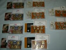 2007 S - 2016 S  PRESIDENTIAL $1 COIN PROOF SETS IN OGP 39 COIN COMPLET SET
