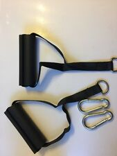 Bowflex Handles Hand Grips Ankle Cuff Pair Original Xtreme Ultimate W/2 Snaps