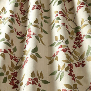 Bougainvillea Paprika - By iliv - Embroidered Fabric - 2.9 Metre Piece