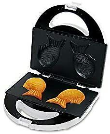 New D-STYLIST TAIYAKI Maker KK-00310 Japanese famous fish-shaped pancake F/S