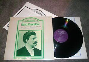 414 098-1 - MORIZ ROSENTHAL - THE AMPICO RECORDINGS - NEAR MINT VINYL