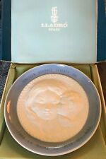 1971 First Edition Lladro Spain Mothers Day Porcelain Plate in Original Box