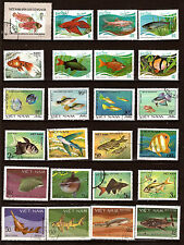Les POISSONS-FISH  Vietnam , poissons de mer,et d'eau douce  28M257A
