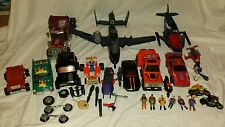 HUGE LOT VINTAGE M.A.S.K. VEHICLES & ACTION FIGURES KENNER 1980s
