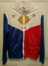 Adidas Philippines Pilipinas Track Jacket Size XXL Blue Red White Star Flag L