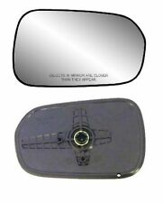 1998-2002 Honda Accord Passenger Side Non-heated Mirror GLASS w/ Backing Plate