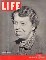 1939 Life May 29 -5 year old Peru girl gives birth;Harlan County KY;Coney island