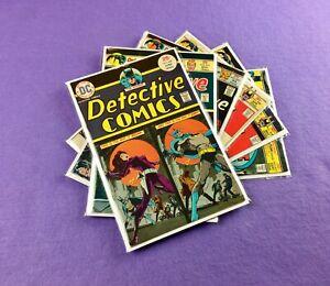 Detective Comics Lot: 6-Bk- #448, 453, 455, 458, 459, 463! Batman!  Hawkman!