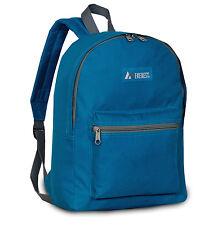 Everest Dark Teal Basic Student Backpack Boys Bookbag