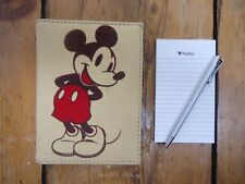 Disney Mickey Mouse Journal Notepad Book with Pen - Free UK P+P
