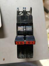 * Federal Pacific Stab-Lok 15 amp 2 pole Circuit Breaker Nc-N1
