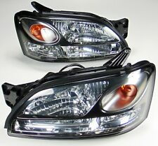 RARE JDM SUBARU BLITZEN LEGACY HEADLIGHTS BRONZE HOUSING HID BE5 BH5 KOUKI 01-04