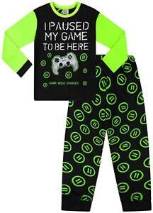 Older Boys I PAUSED MY GAME TO BE HERE  Pyjamas PJs Sleepwear Age 9-16 Years