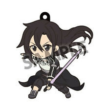 Sword Art Online Kirito GGO Action Pikuriru Rubber Phone Strap NEW