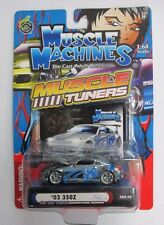 Muscle Machines 2003 350Z 04-10 1:64 Scale Signature Series DieCast Muscle Tuner