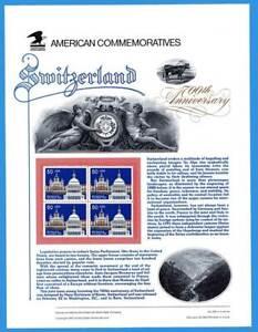 USPS Commemorative Pannello #359 Svizzera #2532