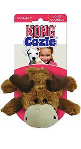 KONG Cozie™ Assorted Naturals Moose   Plush Soft Dog Toys