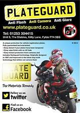 Number Plate Ultimate Camera Flash and Damage Protection by PlateGuard