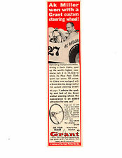 1966 AK MILLER / DEVIN COBRA ~ ORIGINAL SMALLER GRANT PISTON RING AD