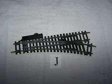 Hornby~ R613 ~R/H point ~ Austrian ~ 18cms ~With rail joiners ~ OO