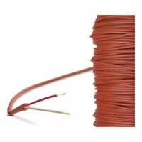 Silikonkabel SIHF 2-leiter Silikonleitung Saunakabel Fühler Leitung Anschluss