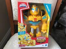 PLAYSKOOL Héroes Transformers Rescue Bots Academia Figura de Bumblebee Mega mighties