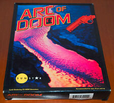 ARC OF DOOM (MAC,1994) Adventure Game US Version Big Box English Complete